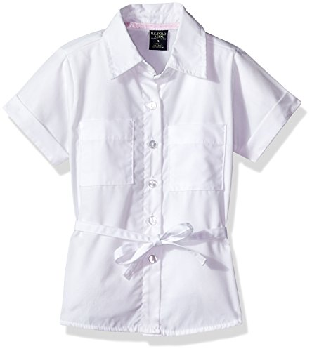 U.S. Polo Assn. Girls' US Polo Assn Blouse (More Styles Available)