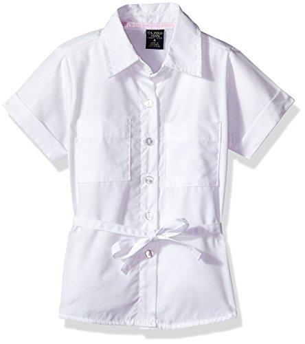 U.S. Polo Assn. Girls' US Polo Assn Blouse (More Styles Available)