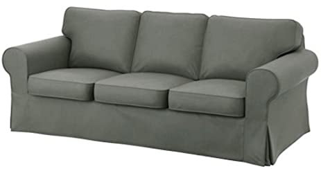 Attraktiv Ikea Ektorp 3 Seat Sofa Cotton Cover Replacement Is Custom Made Slipcover  For IKea Ektorp Sofa