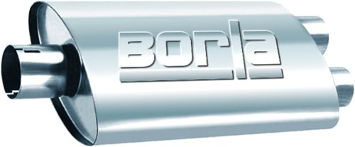 Borla 40670 Universal Performance Turbo XL Center/Dual Muffler
