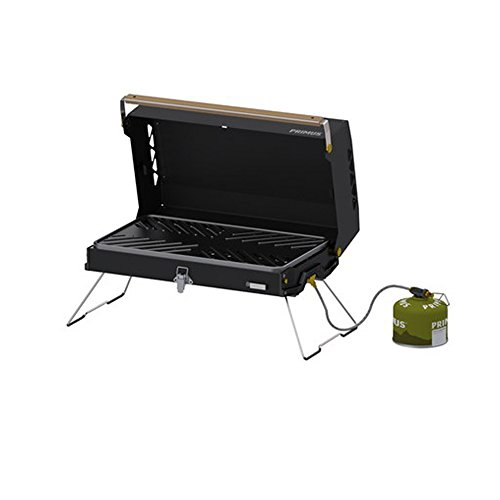 0070 Camping Grill Piezo Ignition, portable, lightweight ()