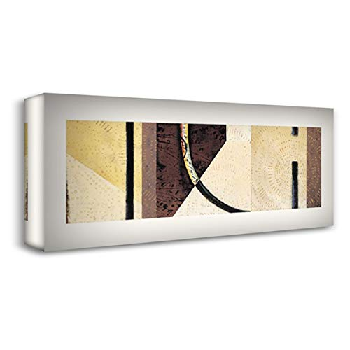 Line and Verse #II7 21x11 Gallery Wrapped Stretched Canvas Art by Holland, Cynthia