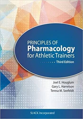 Principles of pharmacology for athletic trainers 9781617119293 principles of pharmacology for athletic trainers 3rd edition fandeluxe Image collections