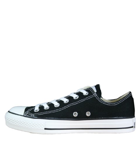 Converse SS12 para Spec UK4 mujer M9166 Zapatillas Ox All Negro Star fxqwndpO