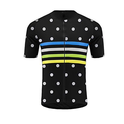 Cycling Bib Short Free (Uglyfrog 2018 Men's Summer Cycling Jersey Road Bike Set Short Sleeves Jersey + Bib Shorts Breathable and Quickly Dry USDXTZYSB06)