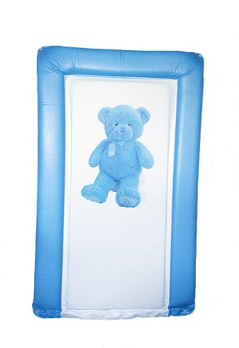 SUPER SOFT PADDED WATERPROOF BABY CHANGING MAT - MY FIRST TEDDY BLUE for BOY BABYWISE