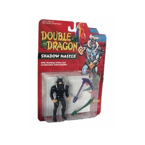 Double Dragon Legend of the Dragon Shadow Master Action figure by Double Dragon