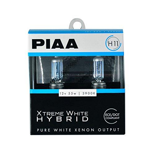 White Hybrid H11 Bulb (3900K - 12V 55W), 2 Pack ()