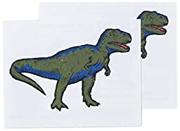 Tattly Temporary Tattoos, T Rex, 0.1 Ounce