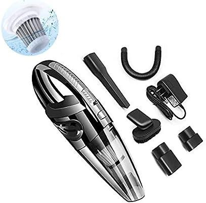 Hcxh-un dispositivo de mano inalámbrico de vacío aspirador batería de litio recargable de mano, con una carga rápida, aspirador seco la luz, que se utiliza for el hogar del coche del animal