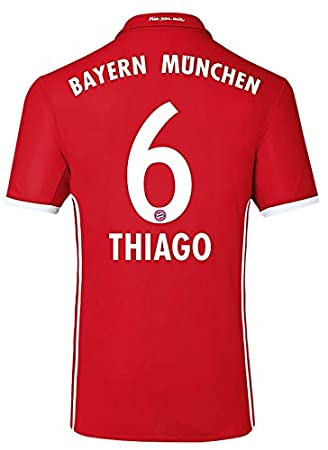 adidas Camiseta de equipo de fútbol FC Bayern München, Thiago 6 ...