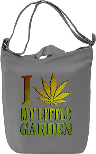 I Love My Little Garden Borsa Giornaliera Canvas Canvas Day Bag| 100% Premium Cotton Canvas| DTG Printing|