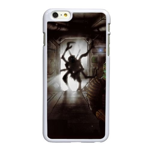B5R27 espace mort I6E7PK coque iPhone 6 4.7 pouces cas de couverture de téléphone portable coque blanche RY6EWR9CU