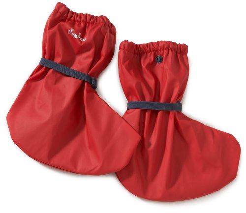 Playshoes Playshoes Regenfüßling / Regenfüßlinge mit Fleece-Futter , verschiedene Farben, Oeko-Tex Standar 408911 - Zapatos para bebé para niños Rojo