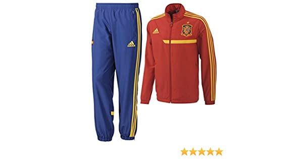 Chandal Selección Española -Junior- 2013: Amazon.es: Deportes y ...