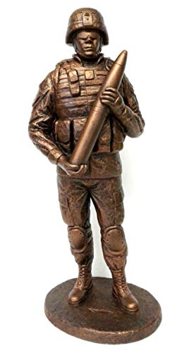 (Terrance Patterson Gallery Small Cannoneer Statue, 12