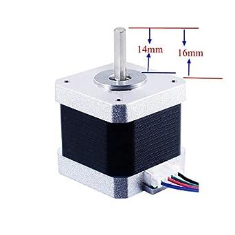 UM2+ Motor extrusora de alimentador Nema17 motor paso a paso 48 mm ...