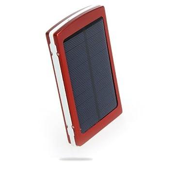 Andoer 8000mAh Cargador solar Portable Batería Externa Cargador Banco de la energía para móvil Compatible con el iPhone iPad Samsung Nokia Smartphones ...