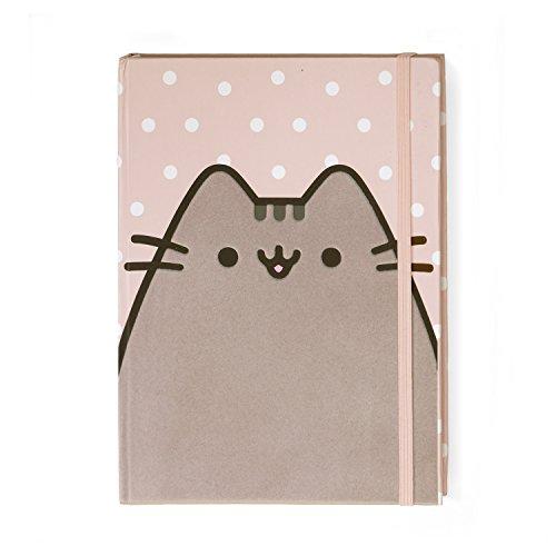Pusheen the Cat Polka Dot Notebook Journal