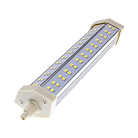 Bombilla LED R7S 15W Blanco Cálido 2800K-3200K efectoLED: Amazon.es: Iluminación