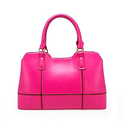 [Walcy Composite Skin Women's Handbag,Square Cross-Section Splicing Packet HB880031C5] (Dragon Costume Skin Minecraft)