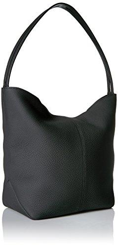 Bag x Wxhxd Jilin Black Handbag 16 Shoulder Womens Hobo x 30 40 ECCO cm zxR75tq5