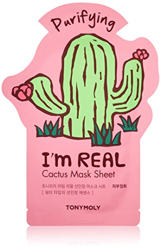 TONYMOLY I'm Real Cactus Purifying Mask Sheet