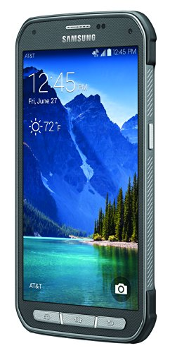 Samsung Galaxy S5 Active, Titanium Gray 16GB (AT&T) 3 Display: 5.1-inches Camera: 16-MP Processor Speed: 2.5 GHz