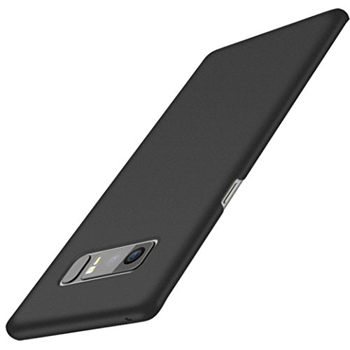 Price comparison product image Iusun Ultra-thin Hard Premium PC Back Case Protective Cover For Samsung Galaxy Note 8 (Black, Samsung Galaxy Note 8)