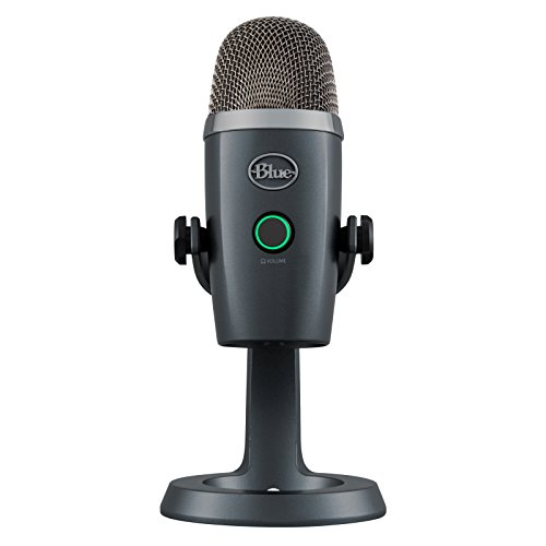 (Blue Yeti Nano Premium USB Mic for Recording and Streaming - Shadow Grey)