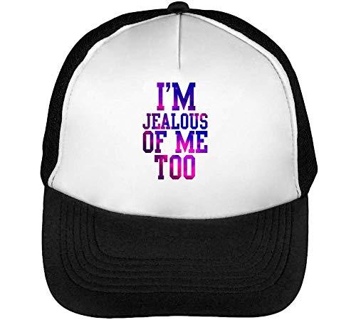 I'M Of Gorras Beisbol Blanco Negro Snapback Hombre Jelous Sr54qS