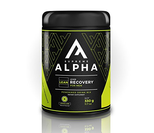 Supreme Alpha Lean Post Workout Recovery for Men   BCAA's, L-Citruline, Vitamin D   Increases Metabolism to Lose Fat