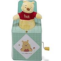 Bebé preferido Disney Baby Winnie the Pooh Jack-in-the-Box, 6.5