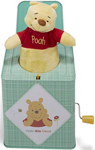Kids Preferred Disney Baby Winnie The Pooh Jack-in-The-Box, 6.5