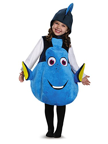 Disney Finding Nemo Deluxe Kids Costumes - Dory Toddler Deluxe Finding Dory Disney/Pixar Costume, One Size
