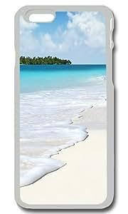 Beach Scenery Personalized Custom iPhone 6 Case Cover - PC Transparent by ruishernameMaris's Diary