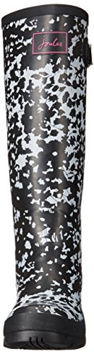Joules Womens Welly Print Rain Boot Argento Ditsy