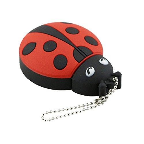 uu19ee USB Flash Drive 8G Cute Ladybug USB Pen Drive 32GB Pendrive 16GB USB Beetle Flash Drive