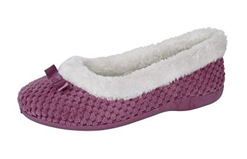 Sleepers Chaussons pour Rose Sleepers Chaussons Femme pw57aqHx