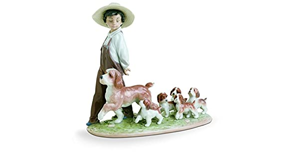 Amazon.com: Lladro Porcelain Figurine My Little Exploradores ...