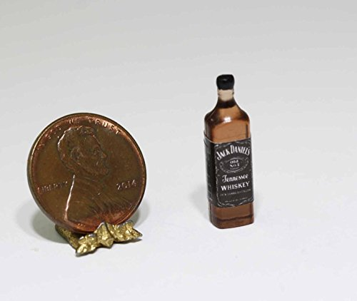 Dollhouse Miniature Bottle of Famous Whiskey by Cindi039;s Mini039;s