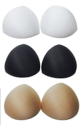 Homebase Women's Smart Bra Inserts Breast Enhancer with Holes 1 Pair