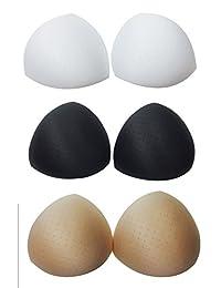 Orilife Women's Smart Bra Inserts Breast Enhancer with Holes 1 Pair