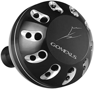 ゴメクサス (Gomexus) 38-47mm パワー リール ハンドル ノブ シマノ Type B (Shimano) 用, 18 ストラディック SW 5000XG 13 16 ステラ SW など用 アルミ製