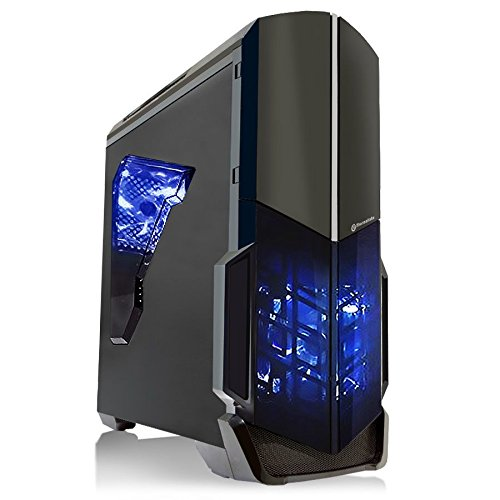 SkyTech Shadow Gaming Computer (AMD FX-4300 3.8 GHz Quad Core, GTX750TI 2GB Graphic Card, 1TB Hard Drive, 8GB DDR3, 24X DVD, WINDOWS 10 PRO 64-bit)