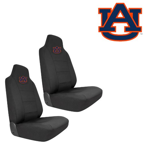 orange and blue car seats covers - 9