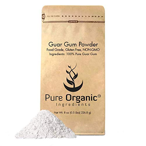 Used, Guar Gum Powder (8 oz.) by Pure Organic Ingredients, for sale  Delivered anywhere in USA