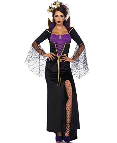Costumes Snow Queen Dress Womens Sexy (Classic Wicked Queen Adult Costume -)