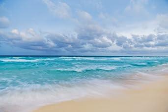 "Photos by Matt Dames MD1C36X24 Artwork #1 Amazing Beach on Canvas, 36"" Length x 24"" Width"