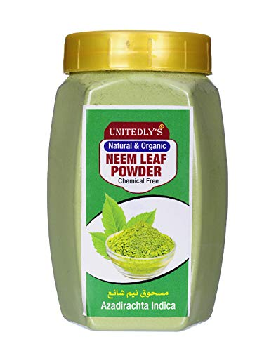 Unitedlys Organic Neem Powder For Hair,Skin Care -200 Grams